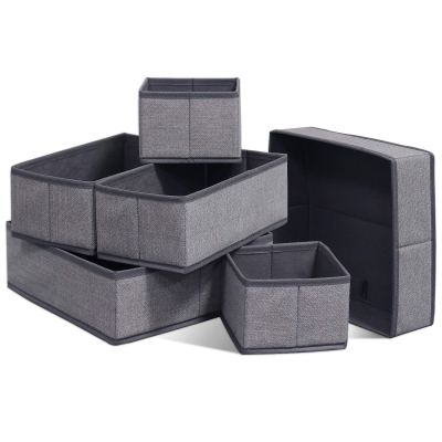 Onlyeasy Foldable Cloth Storage Box Closet Dresser