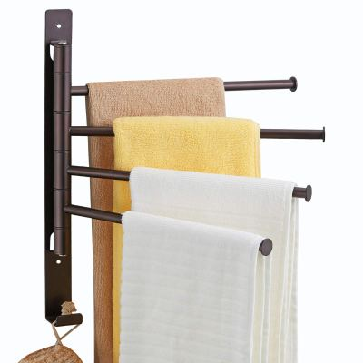 Rubbed Bronze Towel Racks for Bathroom Holder
