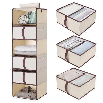 StorageWorks 6-Shelf Hanging Closet Organizer