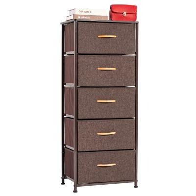 WAYTRIM Vertical Dresser Storage Tower with 5 Drawers
