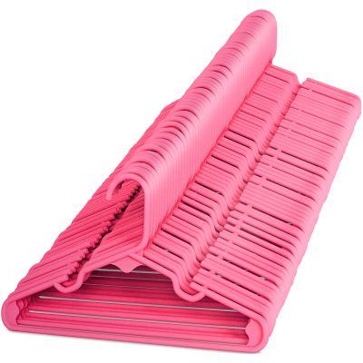 Children's Hangers Plastic Pink