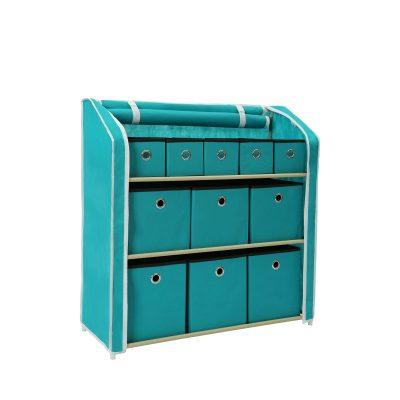 HOMEFORT Multi-Bin Storage Shelf 11 Drawers Storage