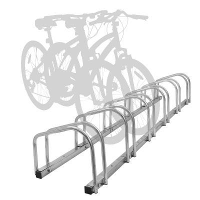 Hromee Bike Floor Parking 1-6 Rack Adjustable Bicycle Storage