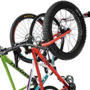 Bike Wall Rack for 3 Bikes - Adjustable Indoor Bicycle Storage