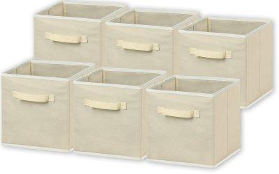 Foldable Cloth Storage Cube Basket Bins Organizer
