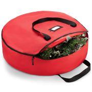 Zober Christmas Holiday Wreath Storage Bag