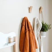 Magnifico Premium Wooden Hooks, Rustic Wall Hook