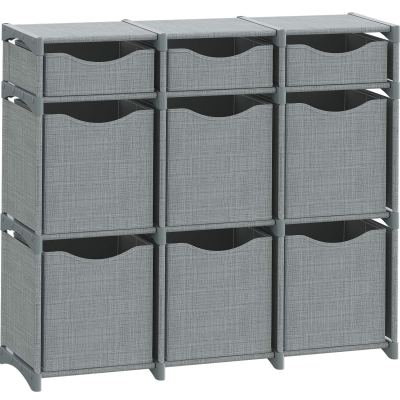 9 Cube Organizer | Set of Storage Cubes Included