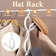 Storage Rack Stackable Hat Scarf Coat Holder