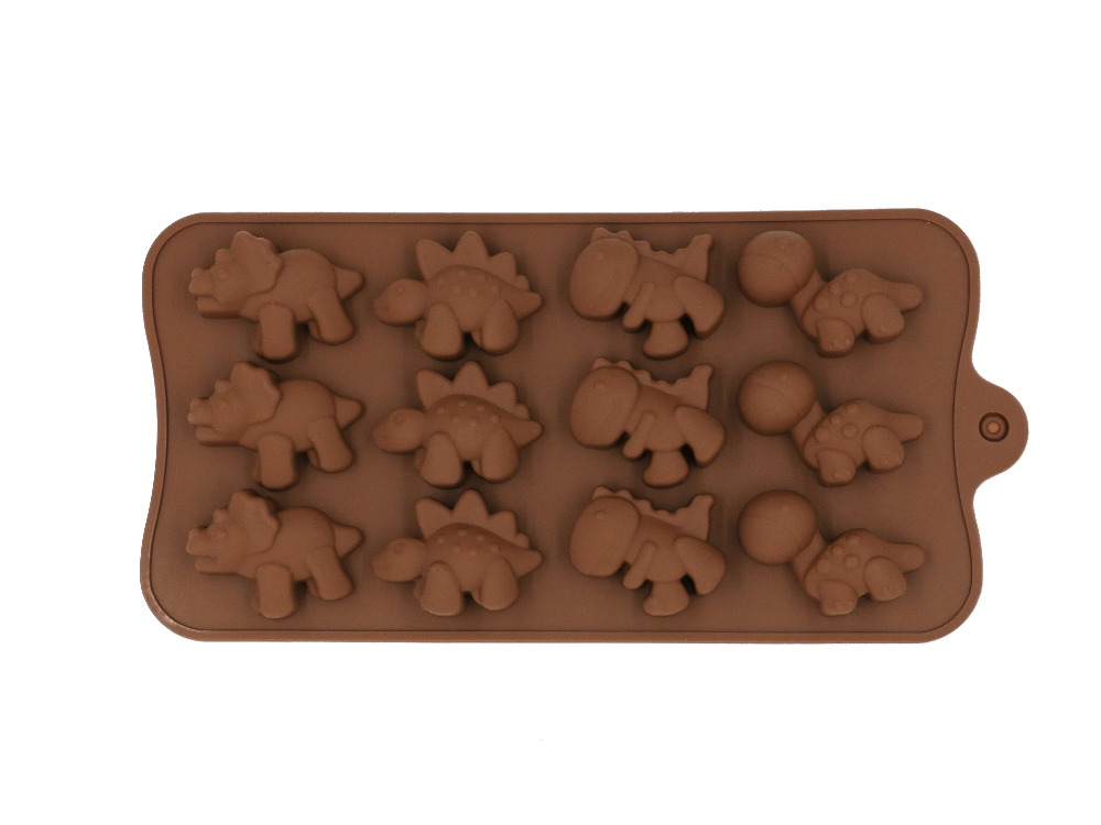 Silicone Chocolate Mold Baking Tools Non-stick Cake Mold Jelly Candy Mold DIY