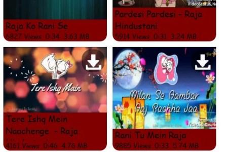 Vidmate status video download