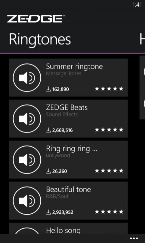 Get ZEDGE Ringtones Wallpapers Microsoft Store