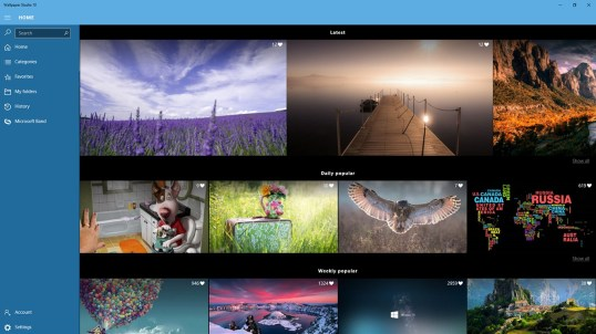 Wallpaper Studio 10 for Windows 10 free download ...