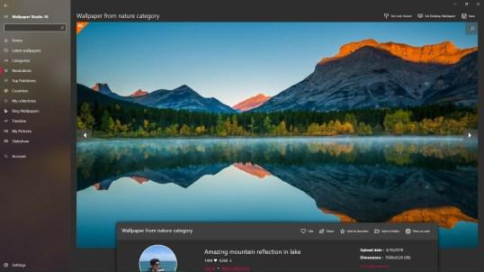 Wallpaper Studio 10 for Windows 10 PC Free Download - Best ...