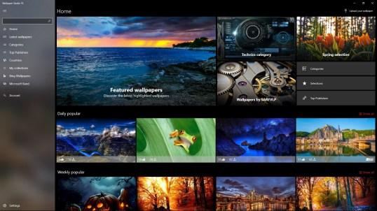 Wallpaper Studio 10 for Windows 10 PC free download ...