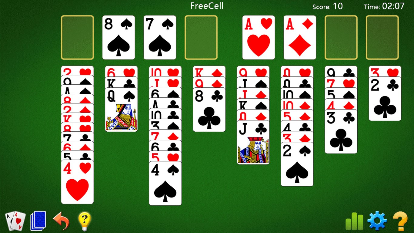 FreeCell Solitaire For Windows 10