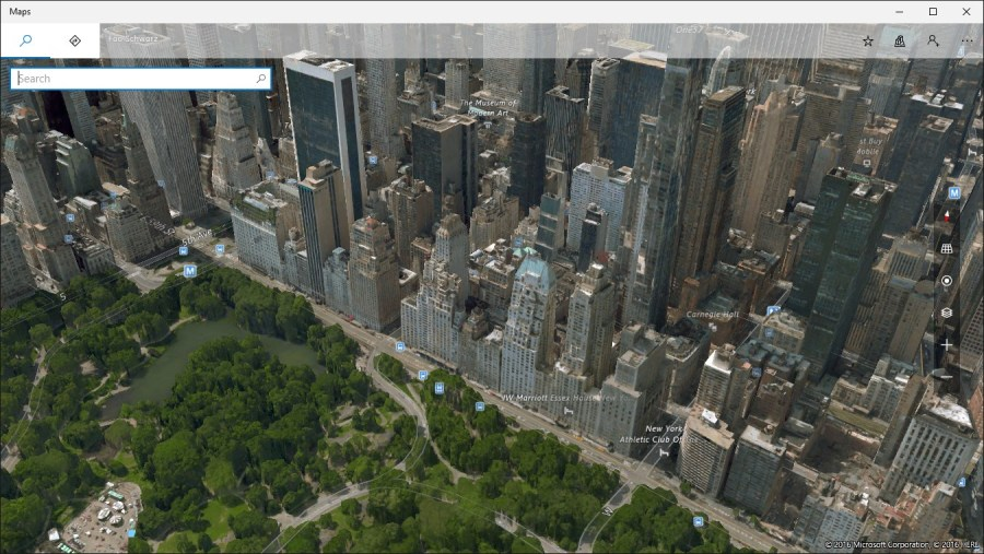 Get Windows Maps   Microsoft Store Screenshot  Explore the world in 3D with detailed aerial imagery