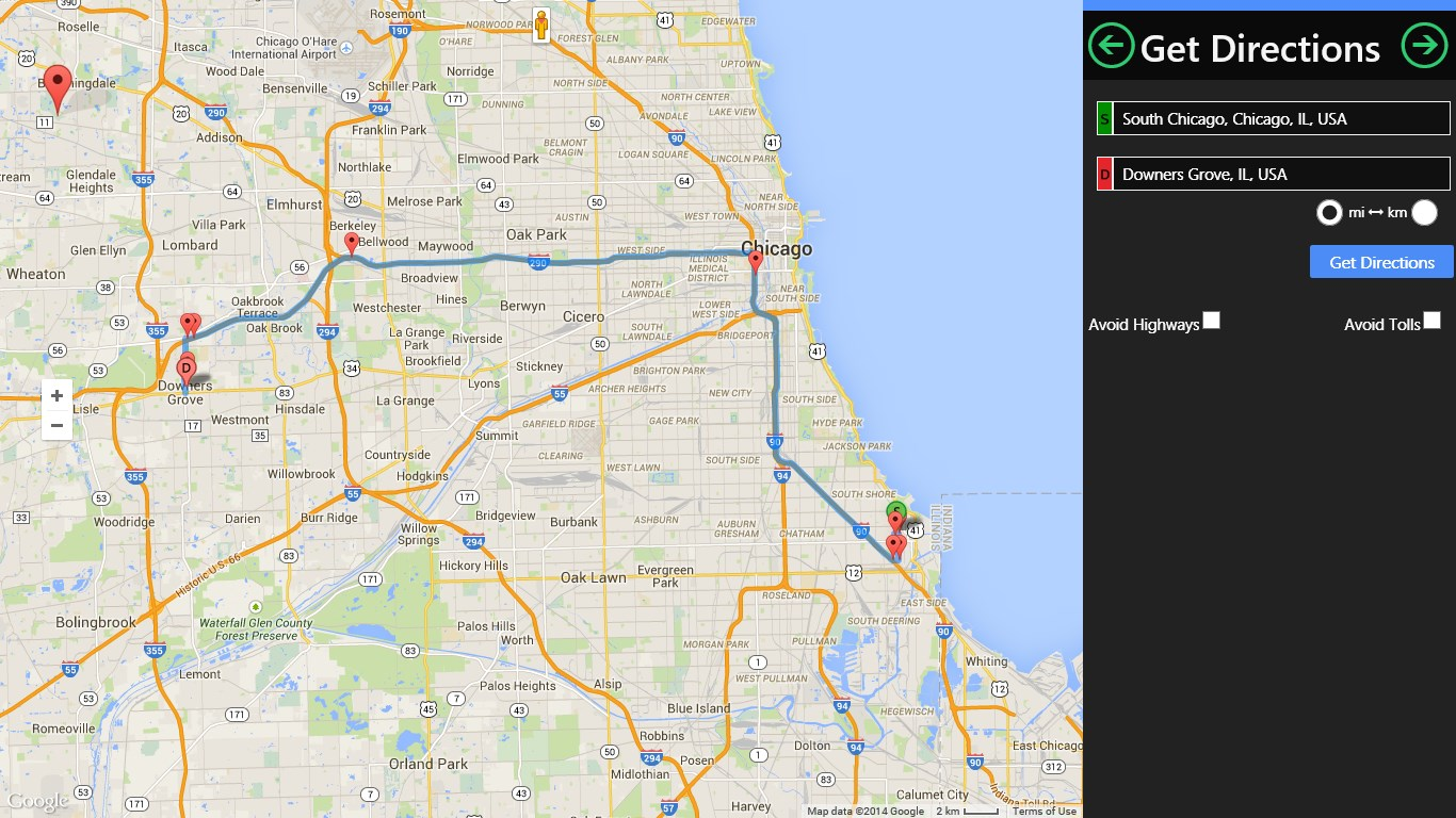 Get Maps App   Microsoft Store     Screenshot  Get Direction