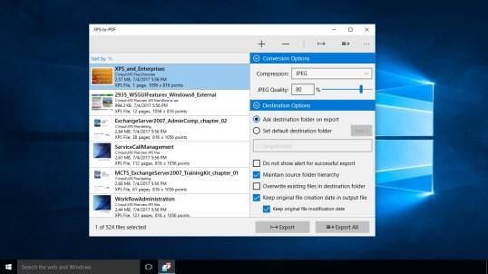 XPS-to-PDF : Convert XPS & OXPS files into PDF PC Download ...