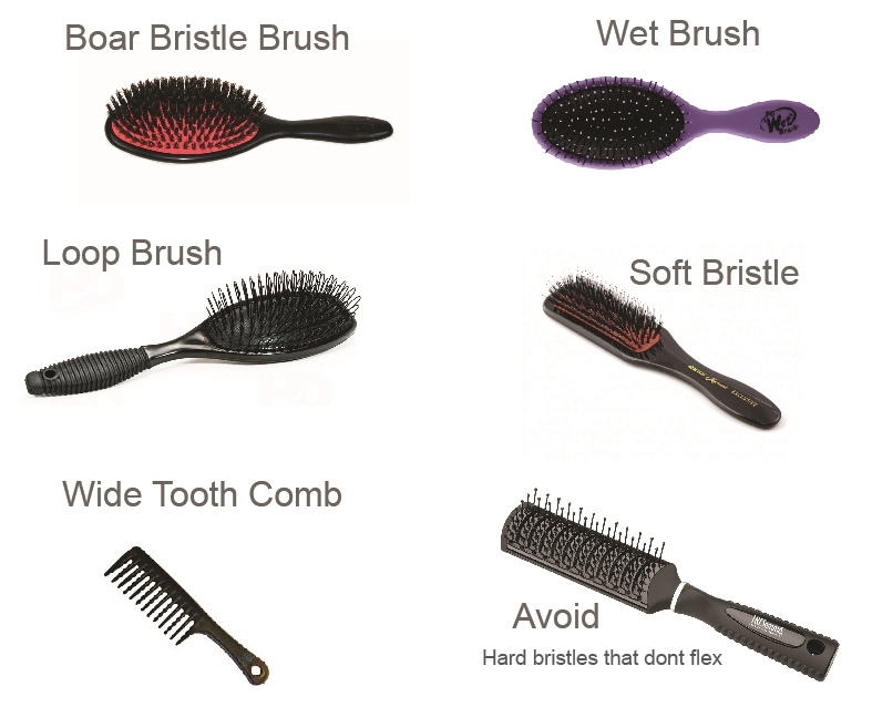 Best Brushes For Hair Extensions Hair Flair Extensions Blog