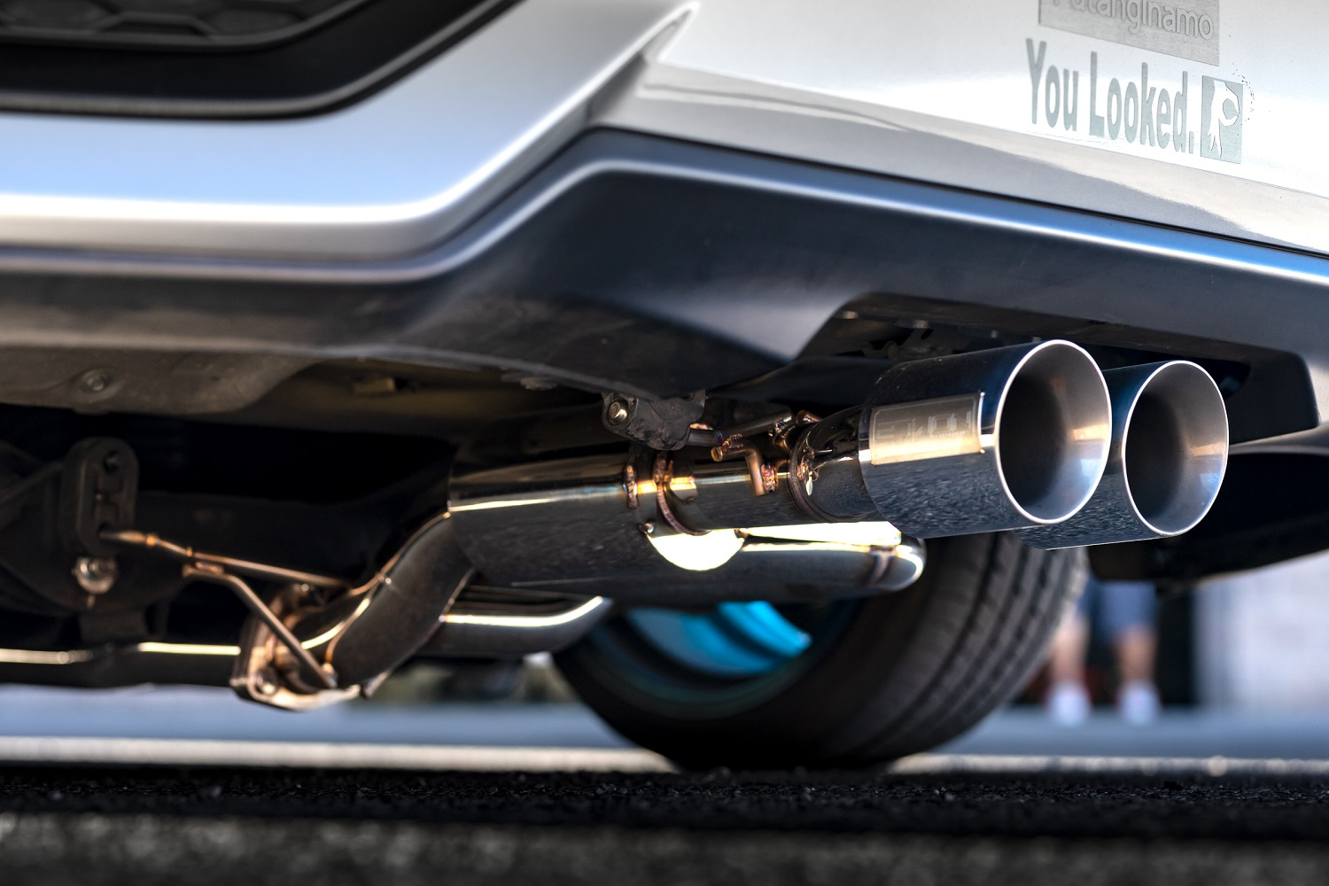2017 civic si front pipe back exhaust