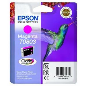 Epson Kartuçë me bojë ngjyrë magenta T0803 M