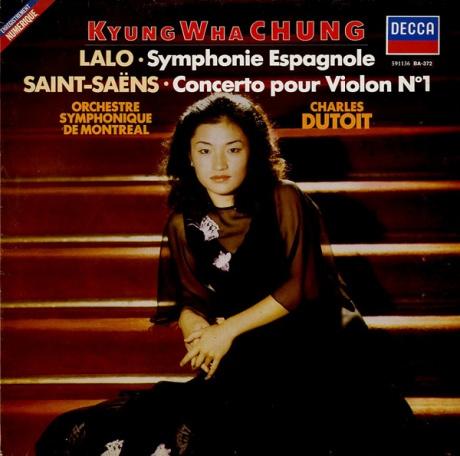 FR DECCA 591136 チョン・キョンファ ラロ・スペイン交響曲/サン=サーンス・ヴァイオリン協奏曲第1番