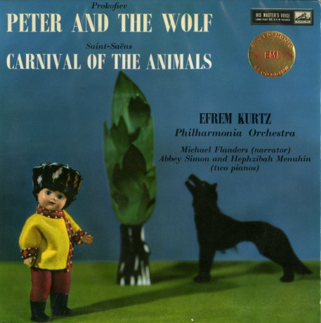 GB EMI ASD299 クルツ サンサーンス&プロコフィエフ・動物の謝肉祭&ピーターと狼