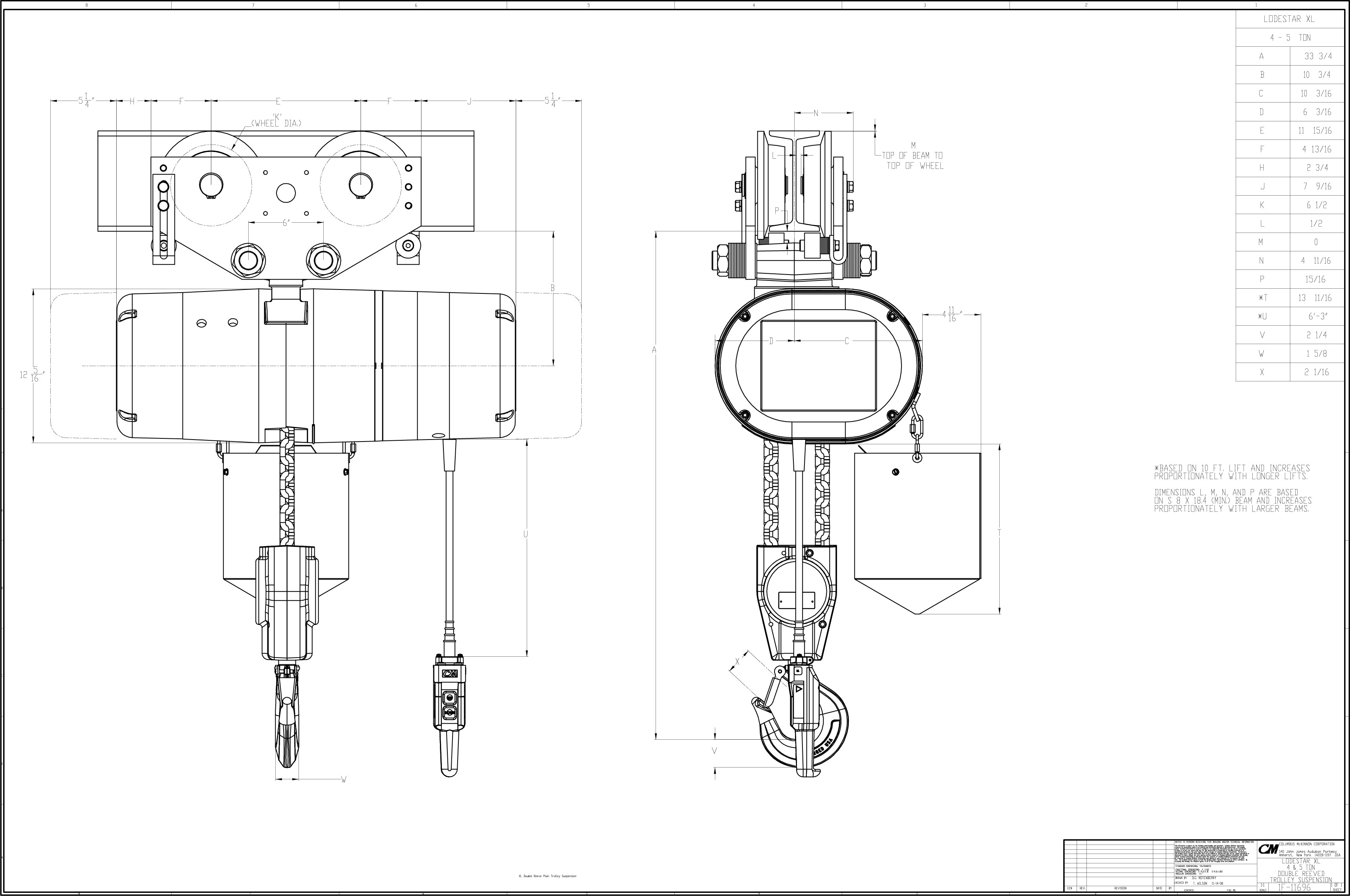 Hitachi Electric Chain Hoist Wiring Diagram