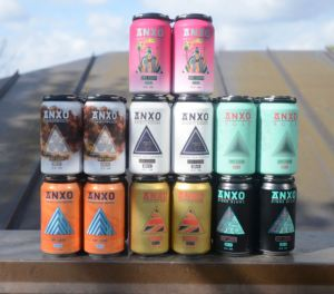 Six ANXO ciders