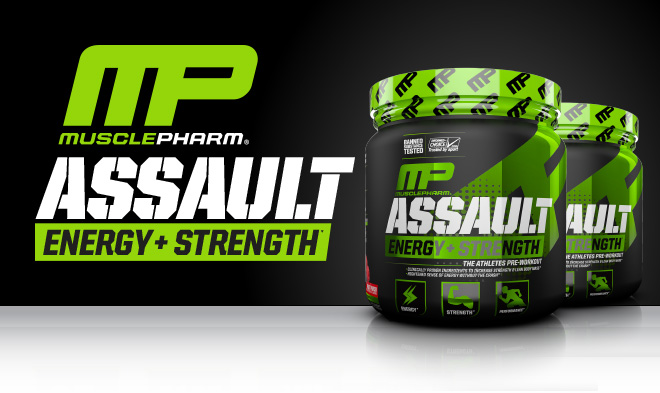 MusclePharm Assault. Energy + Strength.