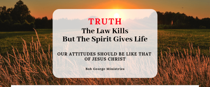 The Spirit Gives Life