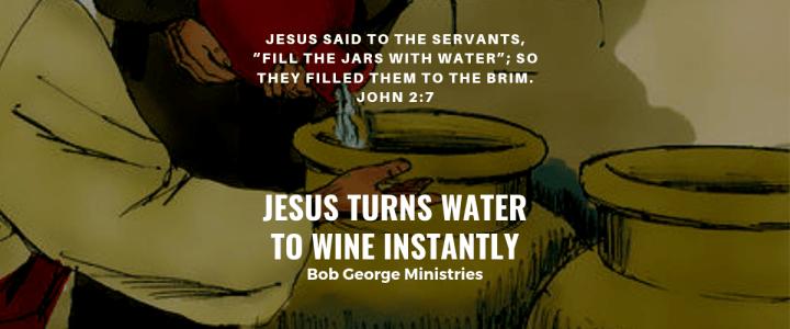 Jesus Changes Water to Wine