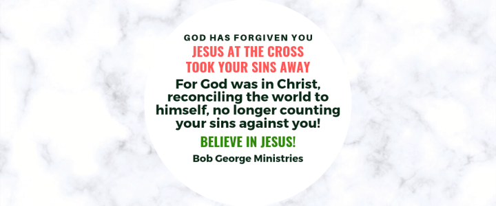 Not Counting Your Sins Against You