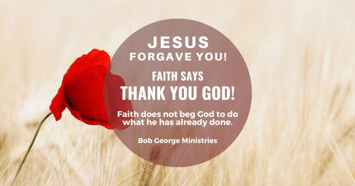 Faith Says Thank You to God