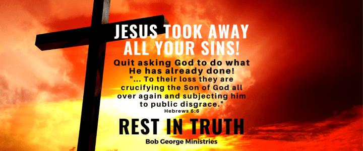 Jesus Took Away All Sins on The Cross