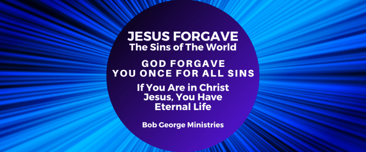 Jesus Forgave The Sins of The World