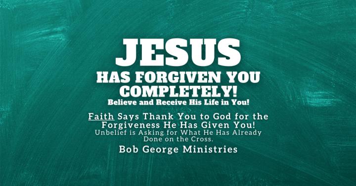 Faith Says Thank You For Forgiveness
