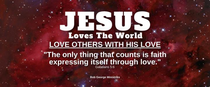 Love With Jesus Love