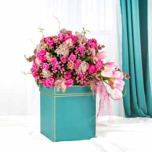 Buono Flower Box Black
