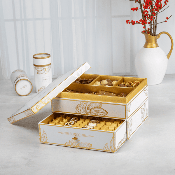 Gamaa Box white gold