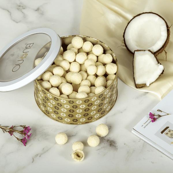 Cocofina White Hazelnuts and Almonds