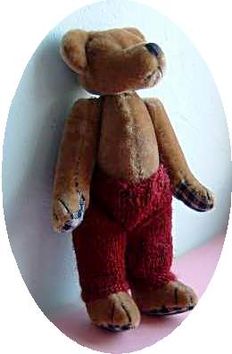 knitted teddy trousers