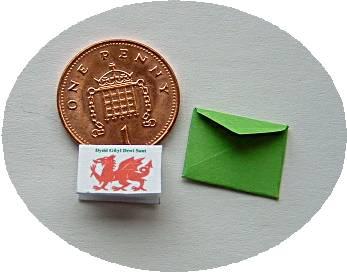 miniature letter