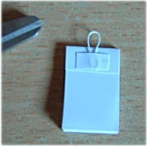 making miniature calendar