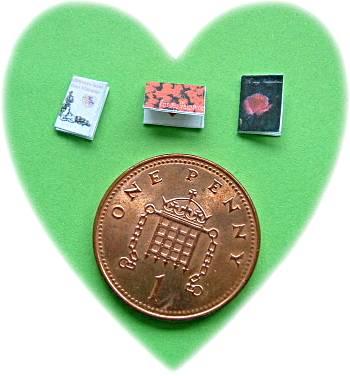 miniature Valentines cards