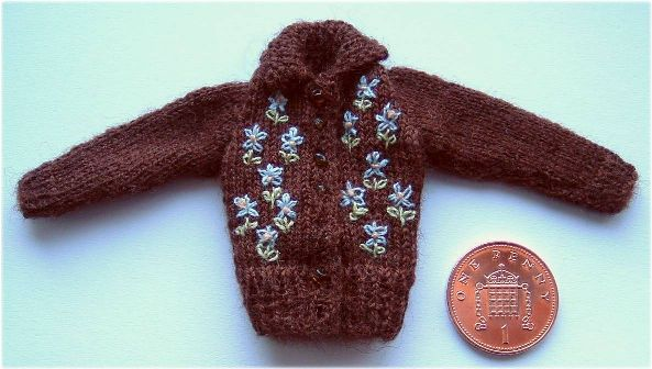 pattern for dolls cardigan