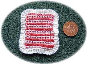 miniature cot cover