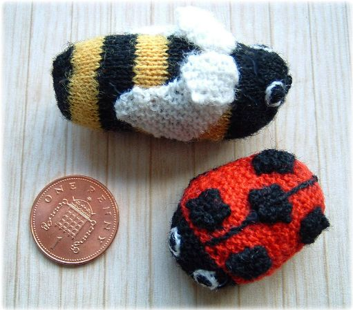 pattern for miniature insects