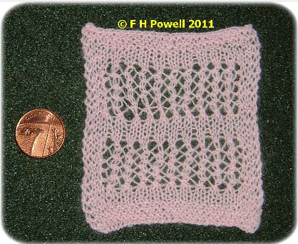 pattern for dolls blanket